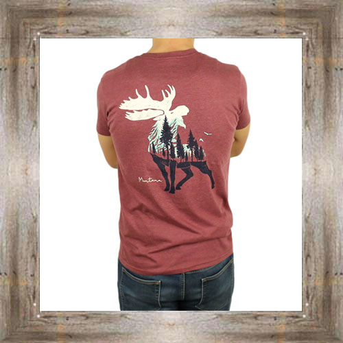 'Mountain Bound Moose' Tee $25.99 #8892