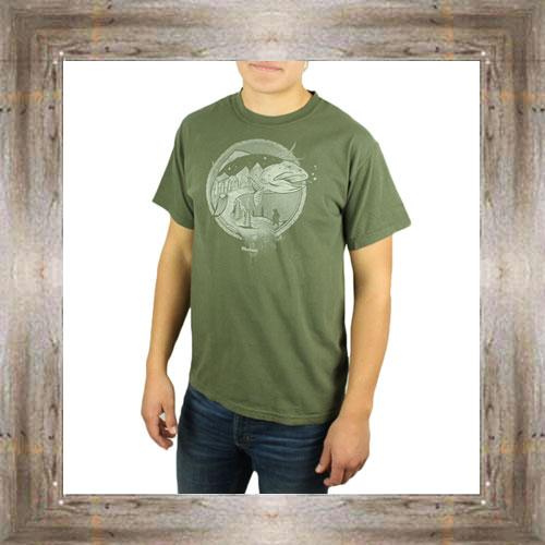 'Mountain Trout' Tee $25.95 #6846