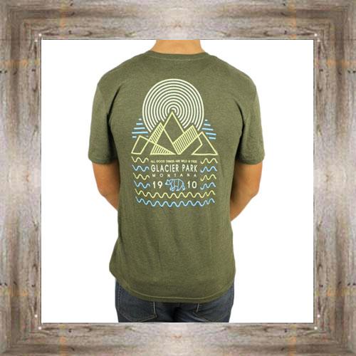 'Angled Mountains' Tee $25.95 #8856