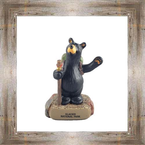 Bear Bell Hiker Figurine #8650 $25.99