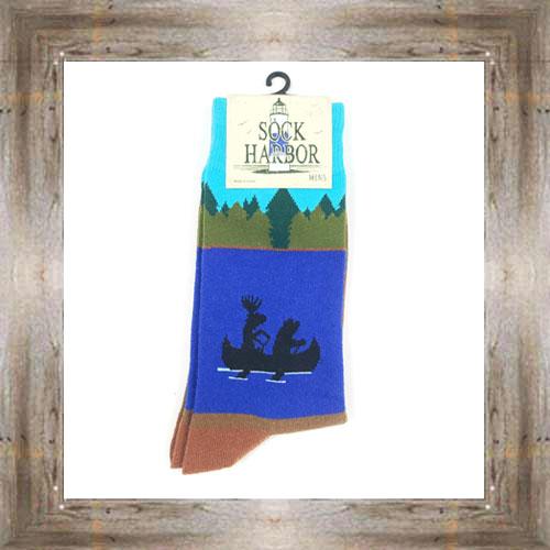 'Bigfoot' Animals Rowing Socks $11.50 #7299
