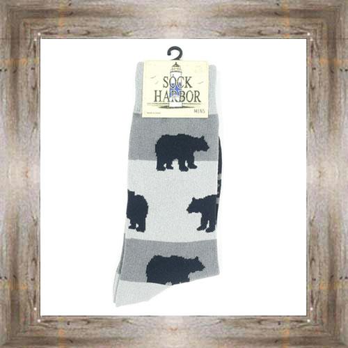 'Bigfoot' Bear Socks $11.50 #7299