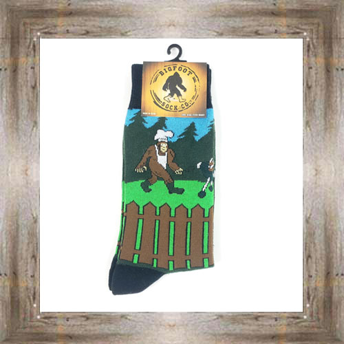 'Bigfoot' BBQ Socks $11.50 #7299