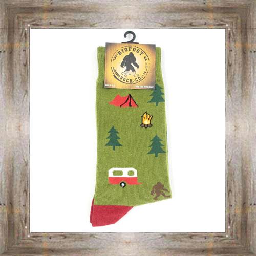 'Bigfoot' Camper Socks $11.50 #7299