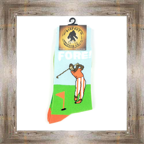 'Bigfoot' Golf Socks $11.50 #7299