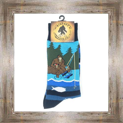 'Bigfoot' Fishing Socks $11.50 #7299