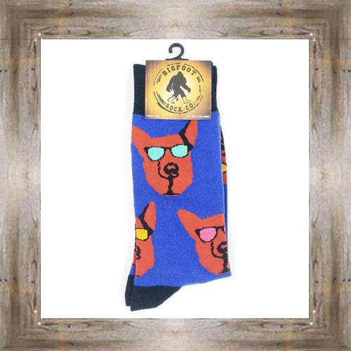 'Bigfoot' Top Dog Socks $11.50 #7299