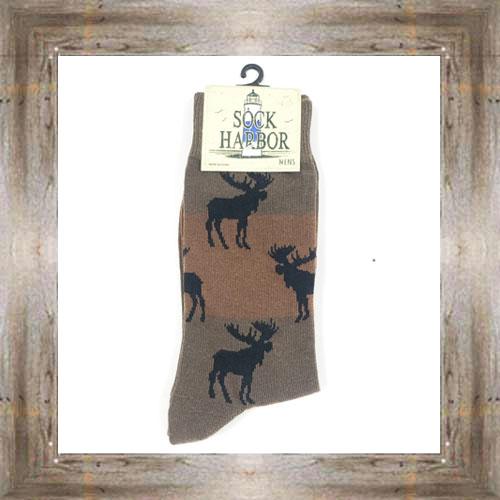 'Bigfoot' Moose Socks $11.50 #7299