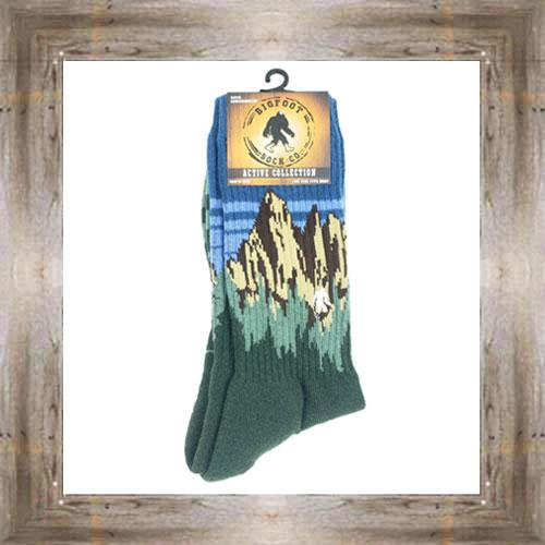 'Bigfoot' Mountain Active Socks $12.99 #8142