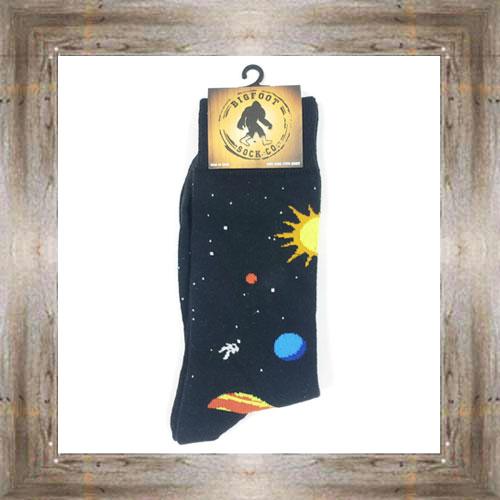 'Bigfoot' Space Socks $11.50 #7299