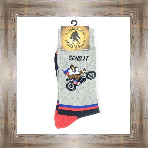 'Bigfoot' Send It Socks $11.50 #7299