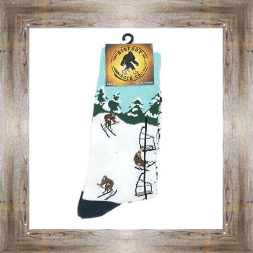 'Bigfoot' Skiing Socks $11.50 #7299