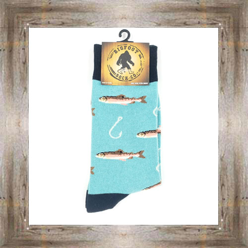 'Bigfoot' Trout Socks $11.50 #7299