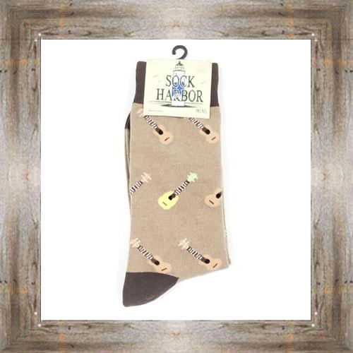 'Bigfoot' Ukulele Socks $11.50 #7299