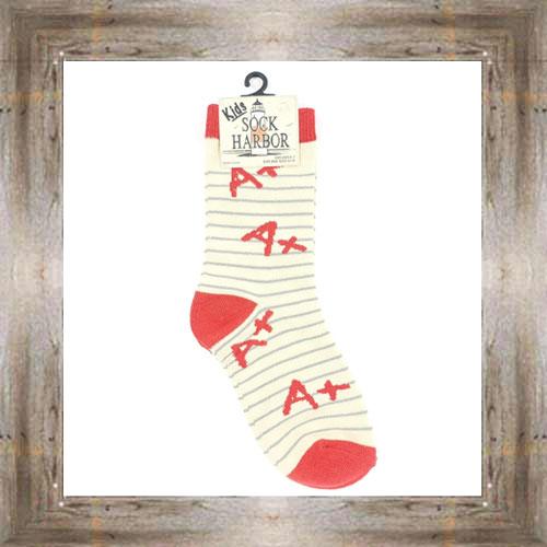 'Bigfoot' A+ Student Kids Socks $6.50 #7300