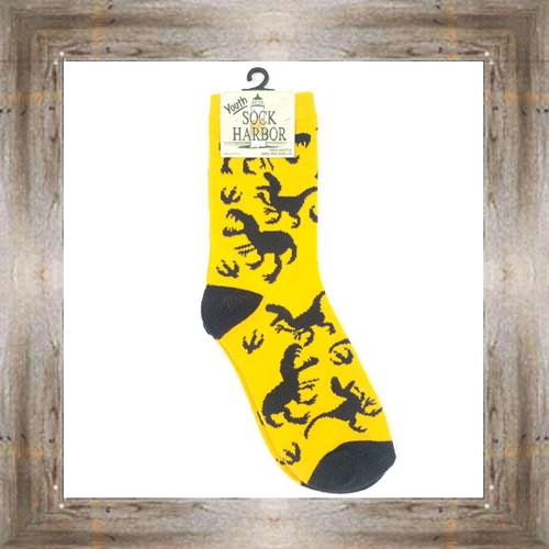 'Bigfoot' Dinosaur Youth Socks $6.50 #7300
