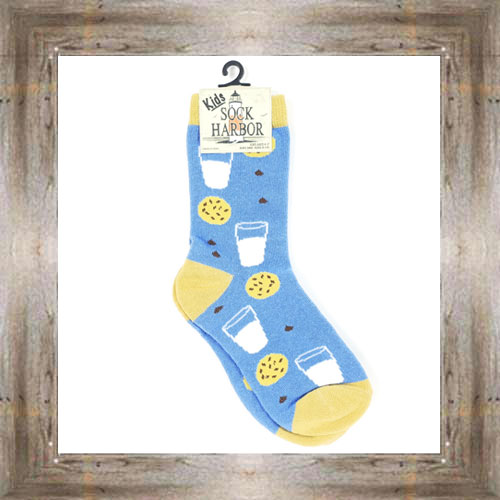 'Bigfoot' Milk & Cookie Kids Socks $6.50 #7300