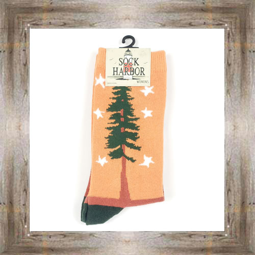 'Bigfoot' More Trees Ladies Socks $11.50 #7299