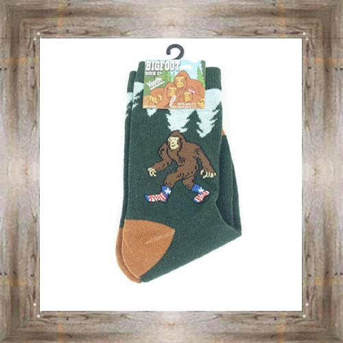 'Bigfoot' Patriotic Youth Socks $6.50 #7300