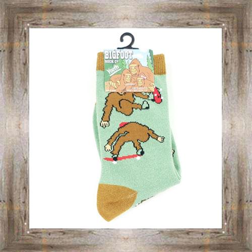 'Bigfoot' Skater Youth Socks $6.50 #7300
