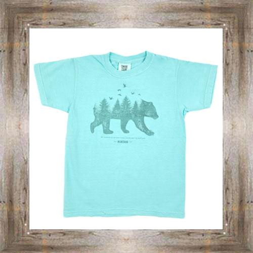 Bird Bear Youth Tee $16.99 #7318 (sm-xl)