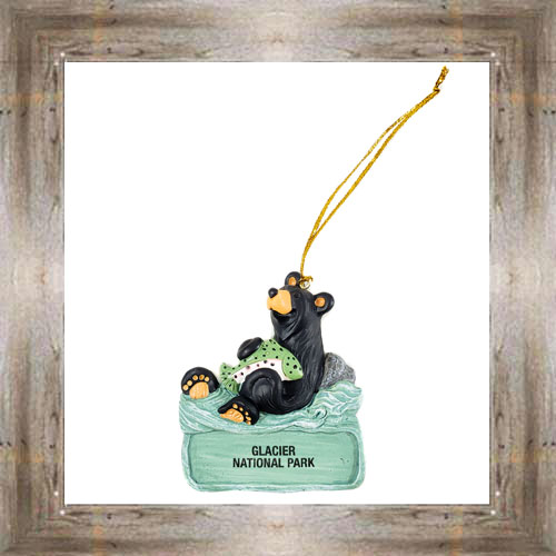 GNP Bears Love Trout Ornament $9.50 #7948