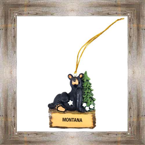 MT Chill Bear Ornament $9.50 #7948
