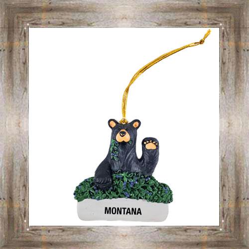 Huckle-Bear-y Ornament $9.50 #7948