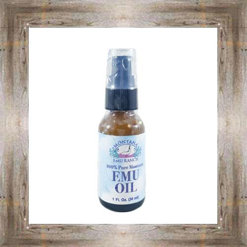 1 oz. Emu Oil $18.99 #8143