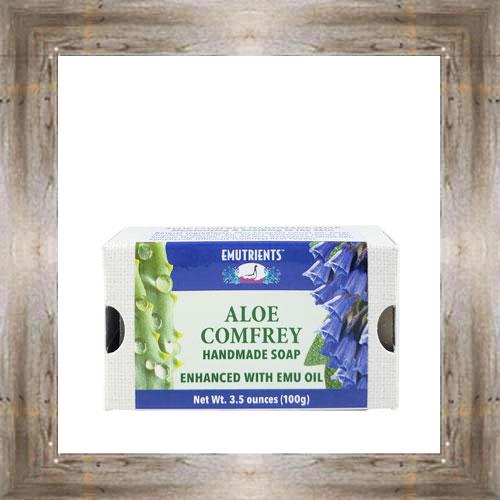 Emu Aloe Comfrey Soap $8.99 #4554