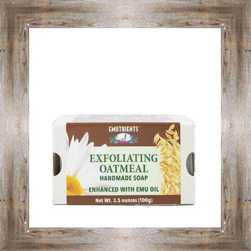 Emu Exfoliating Oatmeal Soap $8.99 #4554