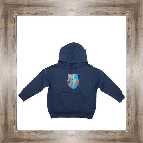 Geo Bear Youth Hoody $24.99 #8596 (sm-xl)