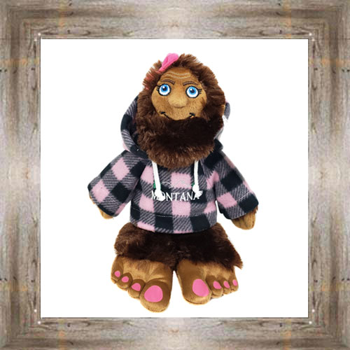 Mrs. Bigfoot Plush Toy $20.99 #8380