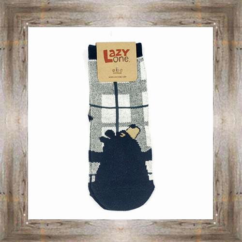 Bear Hug (Black) Kids Socks $6.00 #8818
