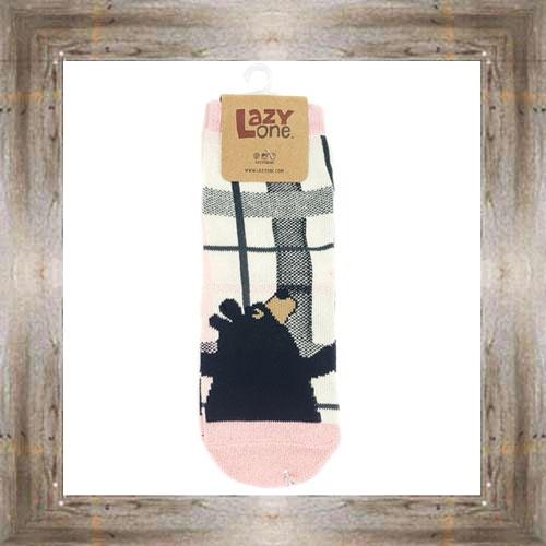 Bear Hug (Pink) Kids Socks $6.00 #8818