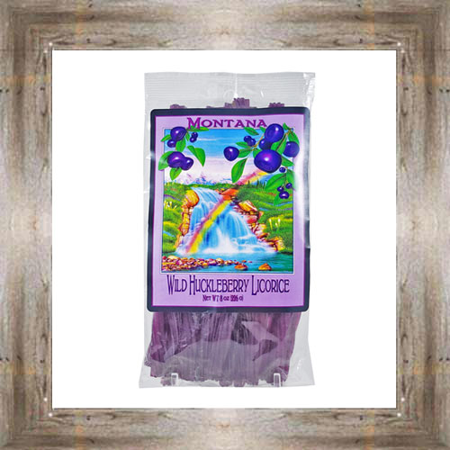 8 oz. Huckleberry Licorice $5.75 #3506