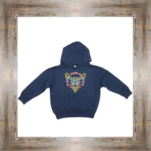 Moose Lines Youth Hoody $24.99 #8628 (xs-lg)