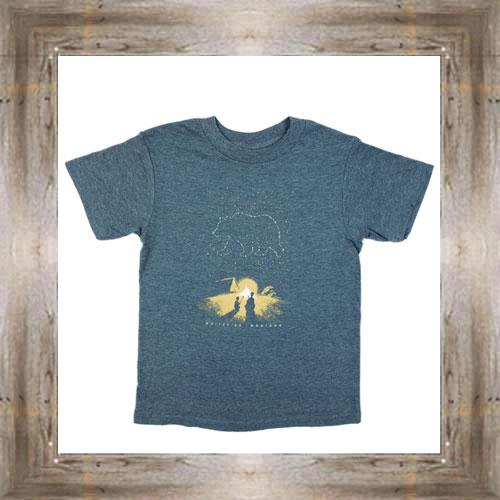 Night Sky Bear -Whitefish MT- Youth Tee $16.95 (xs-lg)