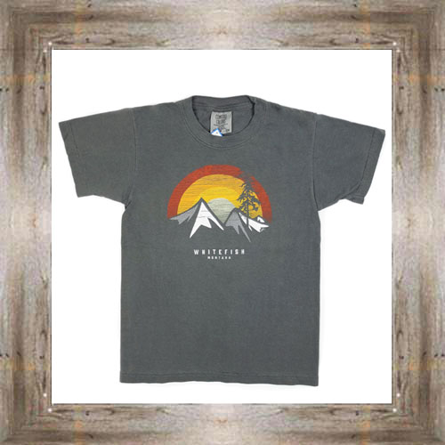Sunset Mountains Youth Tee $16.99 #8566 (sm-xl)