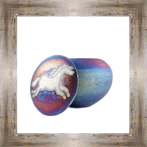 'Raku' Large Horse Dreamcatcher Jar$17.25 #8190