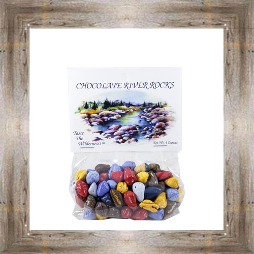 4 oz. Chocolate River Rocks $4.99 #157