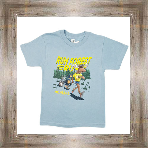 Run Forest Youth Tee $16.99 #8597 (sm-xl)