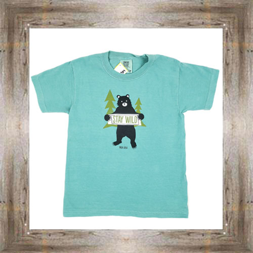 Stay Wild Youth Tee $16.99 #8774 (xs-lg)