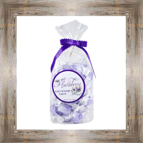 8 oz. Huckleberry Salt Water Taffy $6.99 #6819